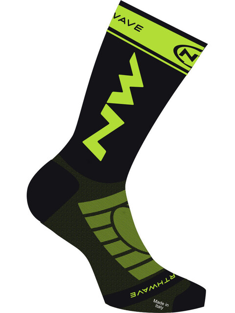 Northwave Extreme Light Pro Socks black/lime fluo